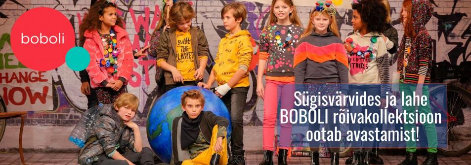 Tule avastama meie uut ja põnevat  BOBOLI sügiskollektsiooni.